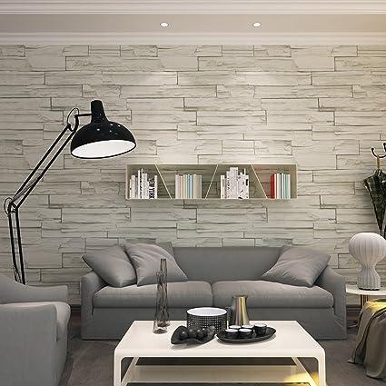 HANMERO Super Large Retro Imitation Grey Brick Stone Block