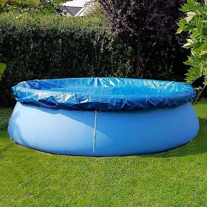 Cubierta inflable de la piscina, cubierta redonda de la piscina ...