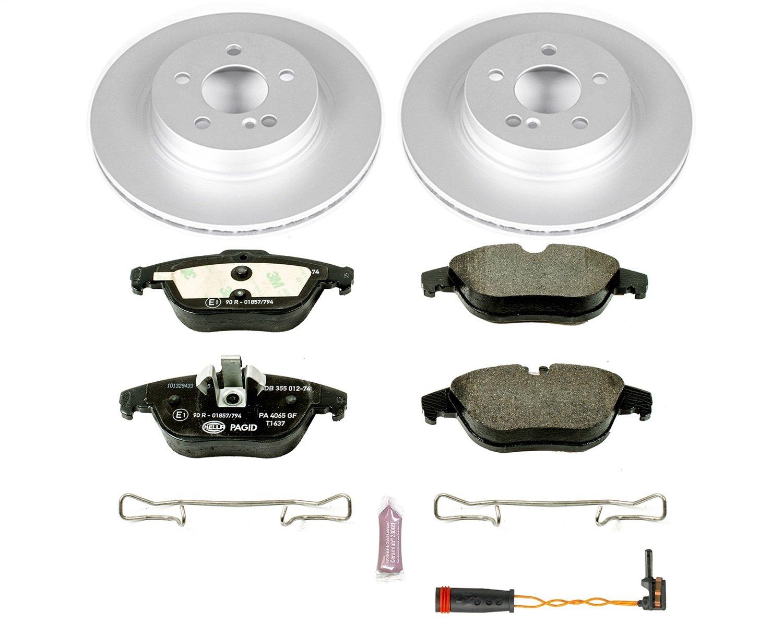 Power Stop ESK5626 Rear Euro-Stop Brake Kit