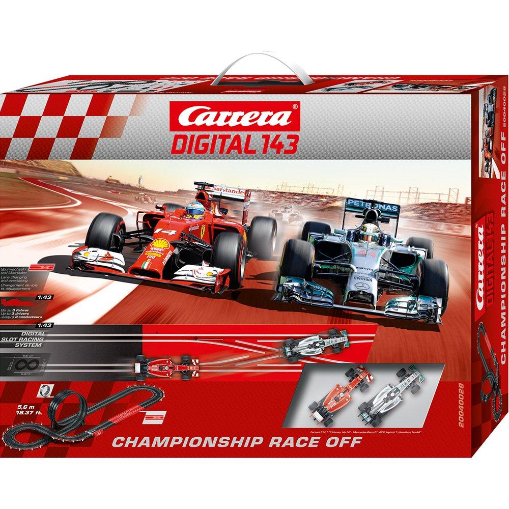 Carrera Digital 143 - Championship Race off (Ferrari F14T Alonso Mercedes F1 W05 Hamilton) 5,6 m, 01 43 (20.040.028)