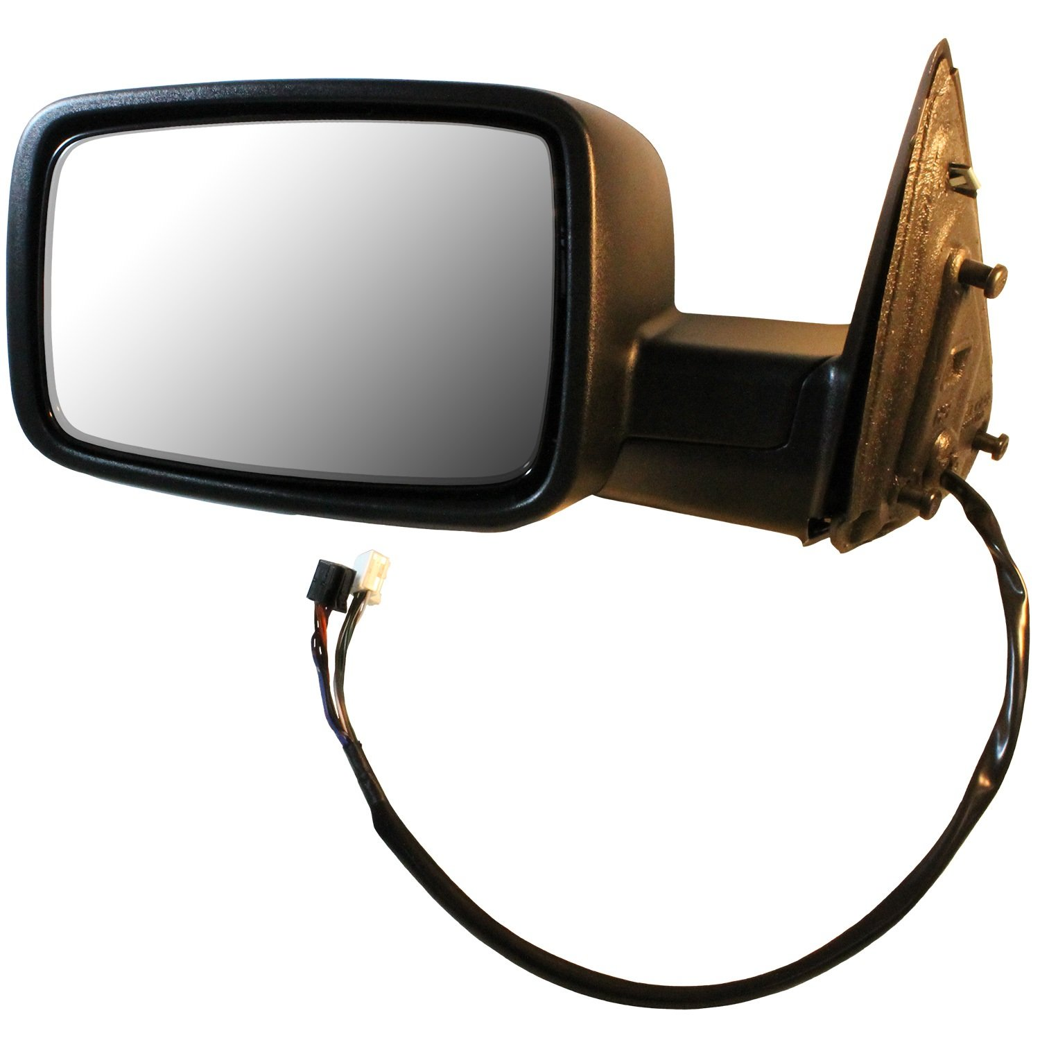 CIPA 46490 Dodge Driver Side Original Style Replacement Mirror Power Remote Foldaway Heated Signal Puddle light Memory Chrome Cap