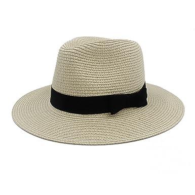 1812f111653 CP   YR Classic Women Men Summer Toquilla Straw Sun Hat For Elegant Lady  Wide Brim