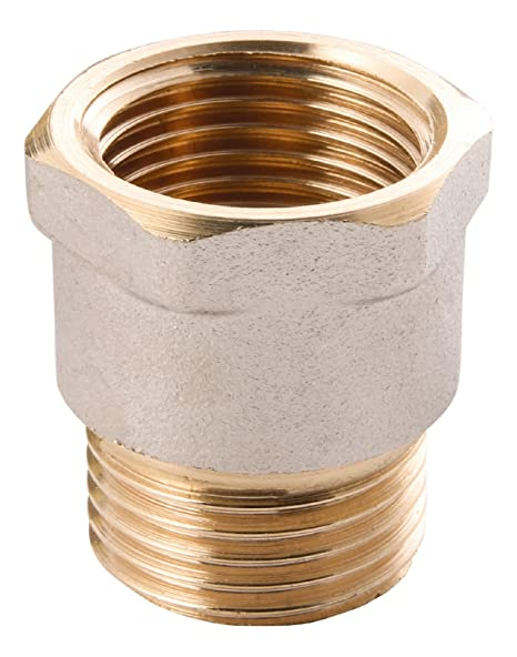 26e50060f5e4 Wiroflex - Outer Thread and Fitting for Multi-Layer Pipes, 1 A - Pack of 1  x 1-Inch Chrome 26036 7: Amazon.co.uk: DIY & Tools