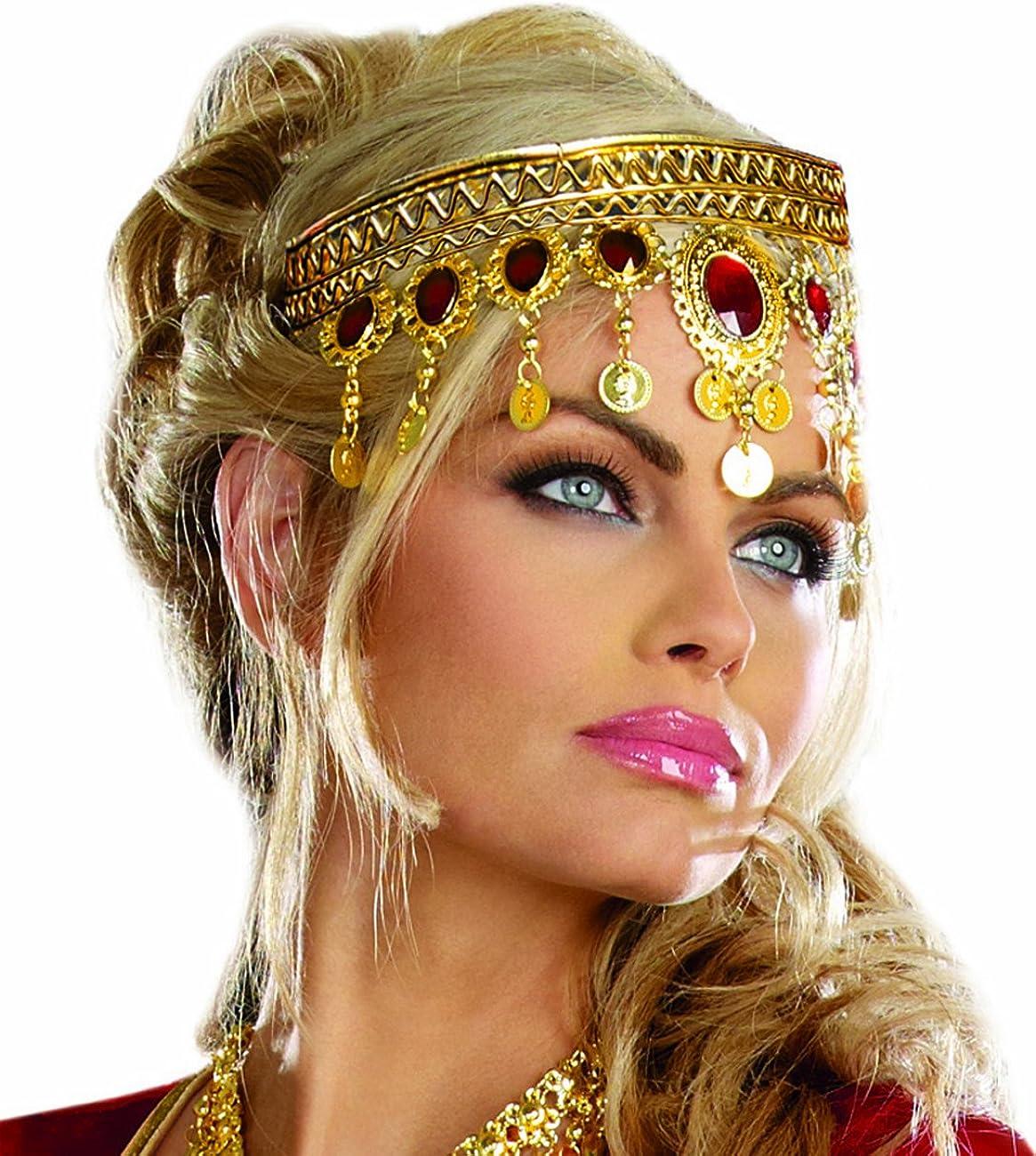 Dreamgirl Women's Dripping Rubies Headpiece
