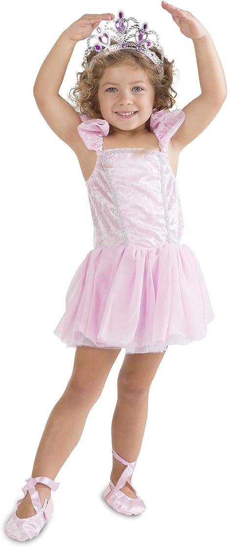 "Ballet Costume~Ballet Slippers~Tiara~Wand 18/"" American Girl Doll Halloween Dance"