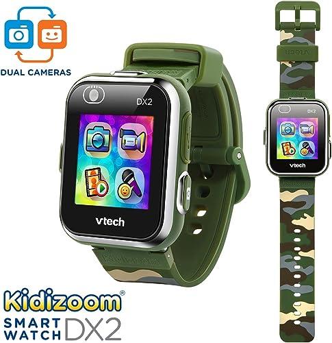 Vtech Kidizoom Smartwatch DX2 olive green camouflage design