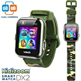 VTech Kidizoom Smartwatch DX2, Amazon Exclusive, Camouflage