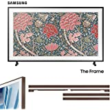 "Samsung QN65LS03RA The Frame 3.0 65"" QLED Smart 4K UHD TV (2019) with Extra Frame"
