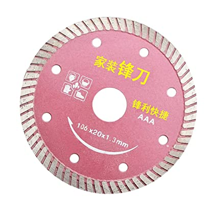 Jili Online 4 INCH WET DRY DIAMOND MASONRY CEMENT TILE CUTTING CUT SAW TURBO BLADE PICK