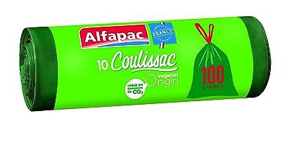 Alfapac - Coulissac, bolsas de basura ajustables ...