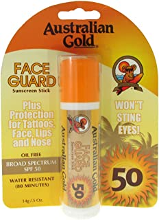 product image for Australian Gold Face Guard Spf50 Stick 14g