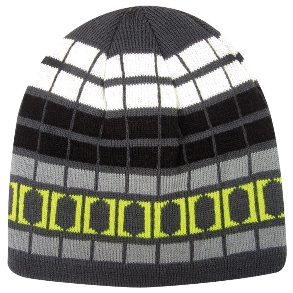 Igloos Boys Reversible Logo Beanie Anthracite One Size Jacob Ash 49-417B