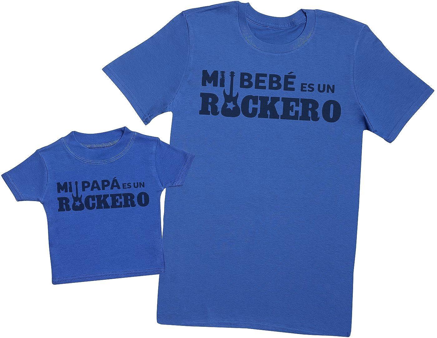 Zarlivia Clothing Mi Papá es un Rockero - Regalo para Padres y bebés ...