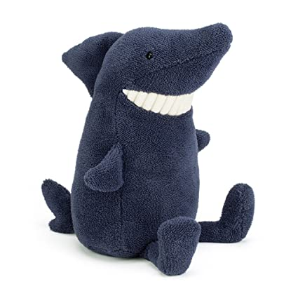 Amazon.com: Jellycat Toothy Shark, Large - 14 inches: Toys & Games