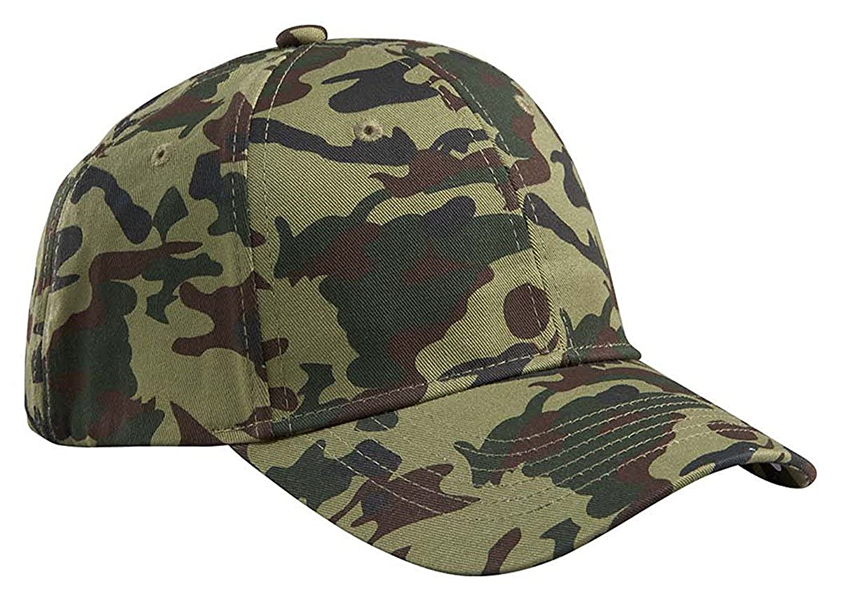 4476cf82fc8427 Amazon.com: Big Accessories Structured Camo Hat, DESERT CAMO, One Size:  Sports & Outdoors
