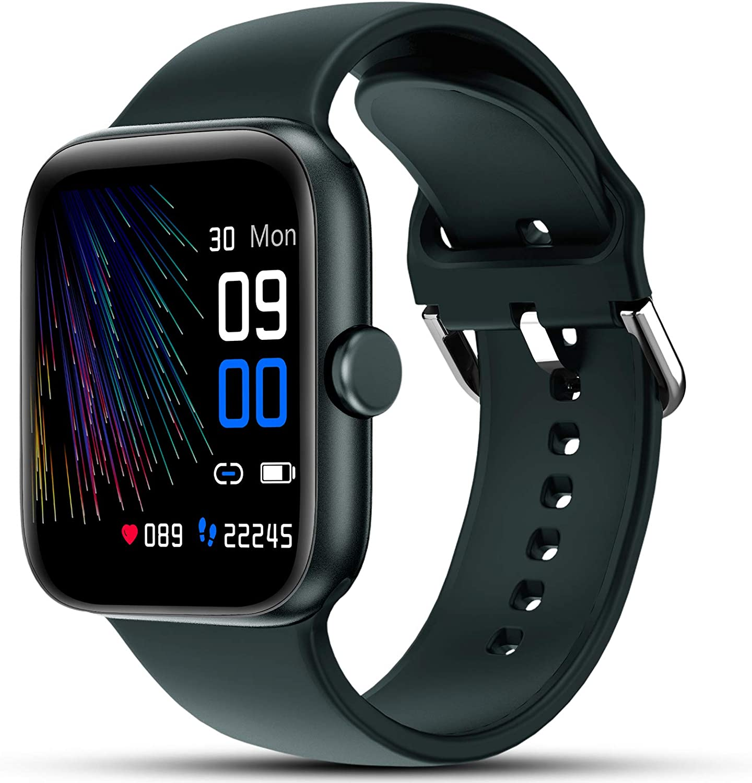 LIFEBEE Smartwatch, Reloj Inteligente Impermeable IP68 Pulsera Actividad Inteligente para Deporte Mujer Hombre Niños con Pulsómetro, Monitor de Sueño, Podómetro, Calorías para iOS y Android