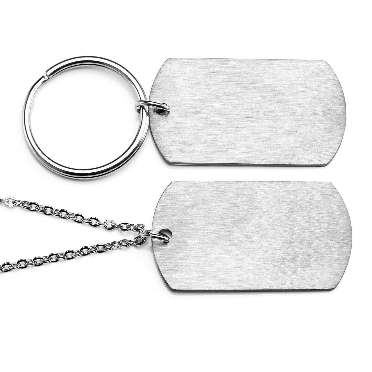 Amazon.com: PiercingJ 2 piezas Conjunto de llaveros de ...