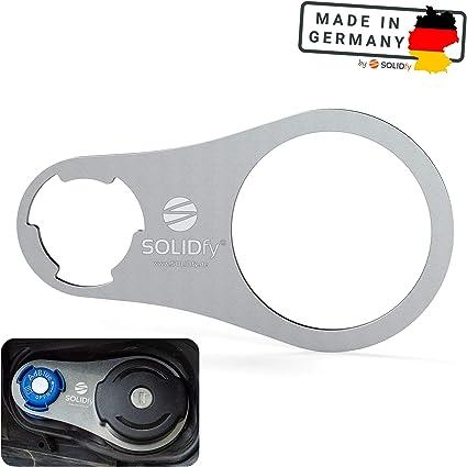 Solidfy Adblue Verschluss Sicherung Aus Edelstahl Für Citroen Berlingo Opel Combo Peugeot Rifter Toyota Proace City Auto