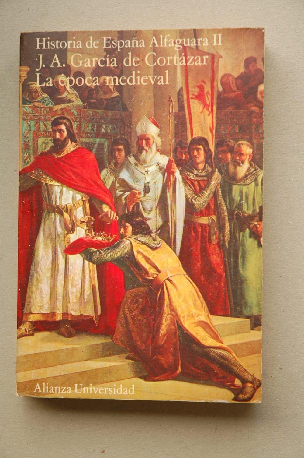 Historia de España alfaguara. tomo2. epoca medieval: Amazon.es ...
