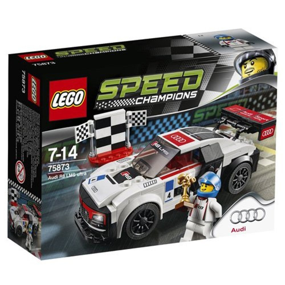 Lego 75873 Speed Champions Audi R8 Lms Ultra Multi Coloured
