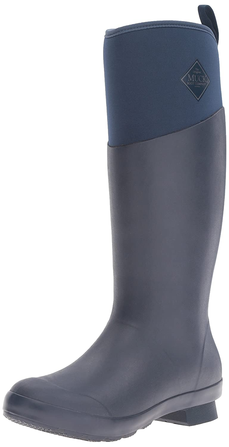 Muck Boot Women's Tremont Wellie Tall Snow B01LAXR5OO 5 B(M) US|Navy