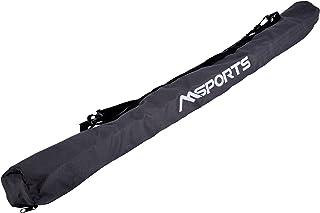 Nordic Walking pliable de Premium Bag–Étui Haute Qualité–ultra-léger–Bâtons de marche nordique anthracite Milteck
