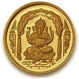 P.N.Gadgil Jewellers, 3 grams 24k (995) Yellow Gold Precious Coin