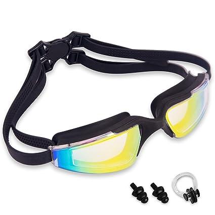 027bdf6c70a JEFlex Leak-Proof Anti-Fog UV Protection Swimming Goggle Unisex ...