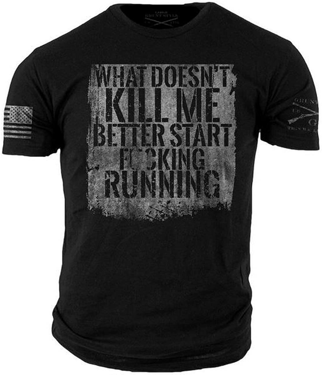 Grunt Style Start Running T-Shirt: Clothing