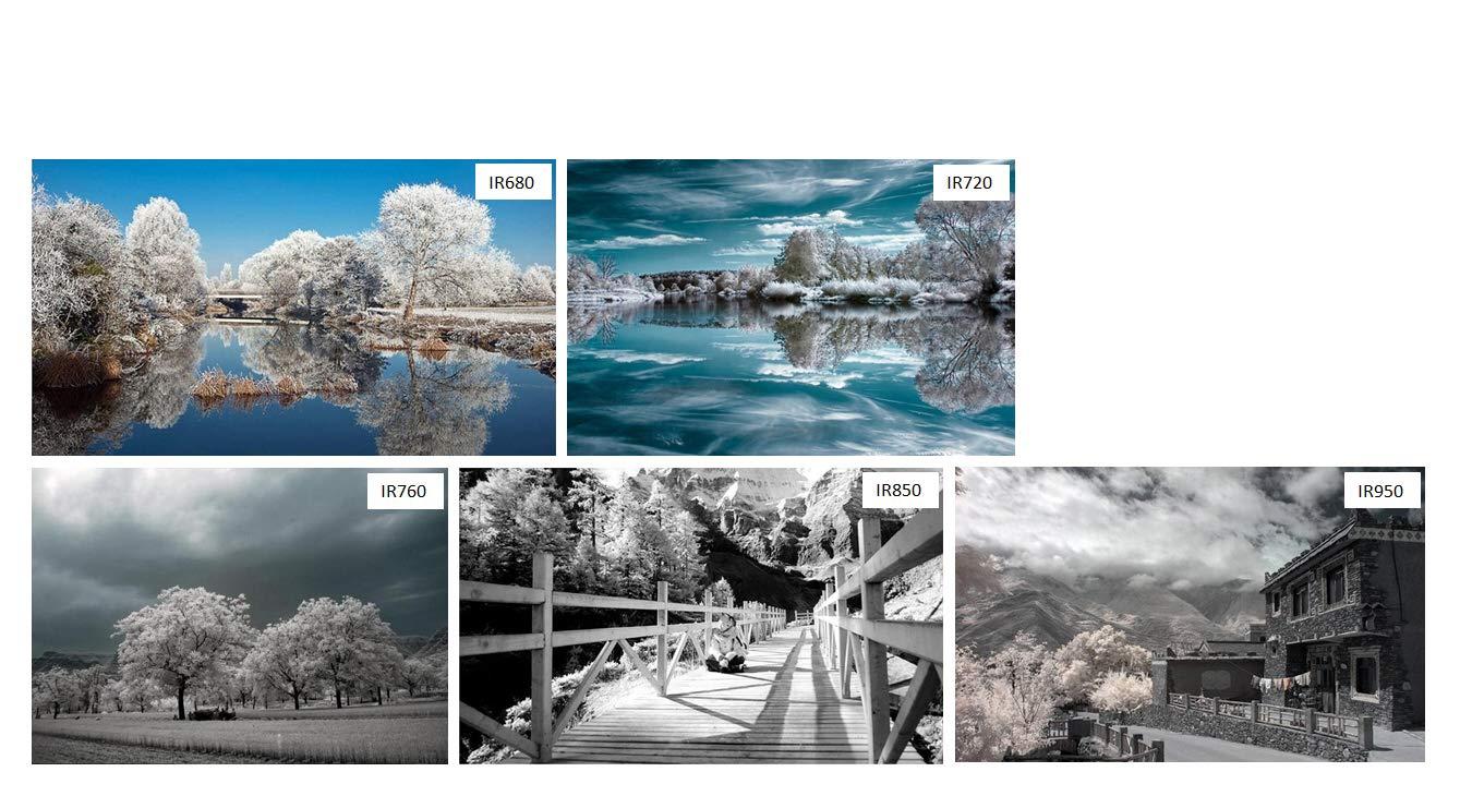 Filtro infrarrojo 52 mm, IR 720 dHD, Filtro de Paso Digital IR720