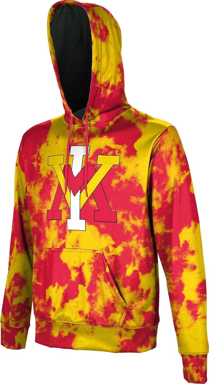 Grunge ProSphere Virginia Military Institute Mens Pullover Hoodie School Spirit Sweatshirt