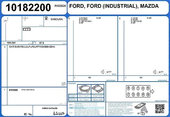 Mazda 8LN1-10-271 Engine Full Gasket Set