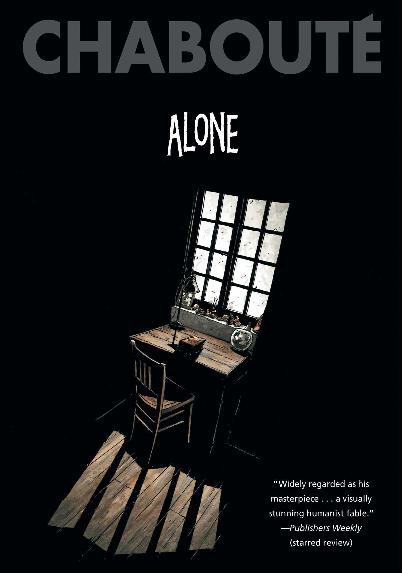 Alone by Christophe Chabouté