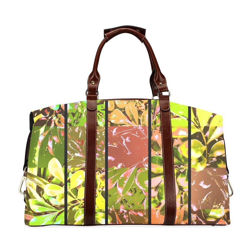 Foliage Patchwork Jera Nour Custom Waterproof Travel Tote Bag Duffel Bag Crossbody Luggage handbag