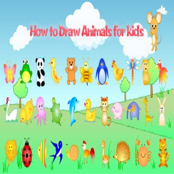 Amazon Com How To Draw Animals Learning Videos For Kids Appstore