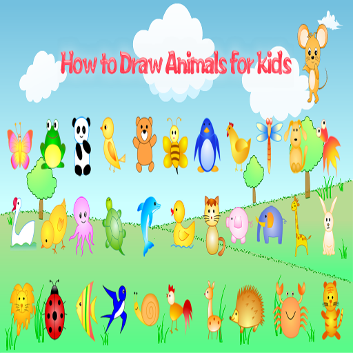(How to draw Animals - Learning Videos for Kids)