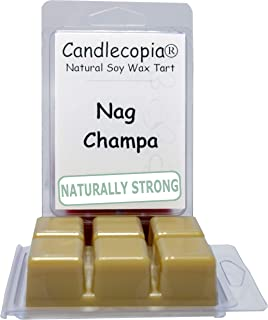 product image for Candlecopia Nag Champa Strongly Scented Hand Poured Vegan Wax Melts, 12 Scented Wax Cubes, 6.4 Ounces in 2 x 6-Packs