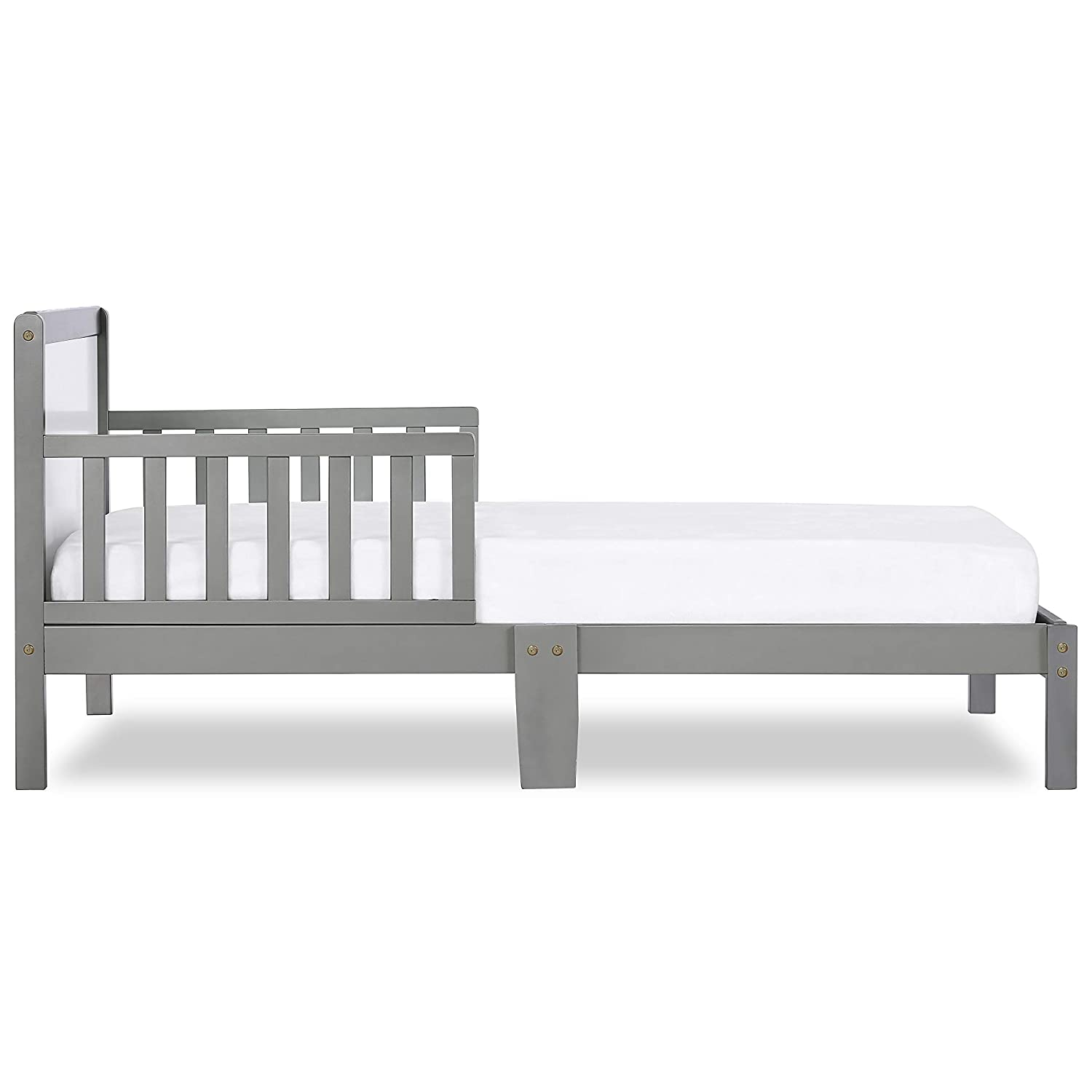 Pebble Grey Dream On Me Brookside Toddler Bed