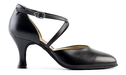 new style fb553 e365d PAOUL Basic Scarpe da Ballo Donna Tango Argento Ballo ...