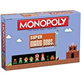Monopoly: Super Mario Bros Collector's Edition Board Game by USAopoly