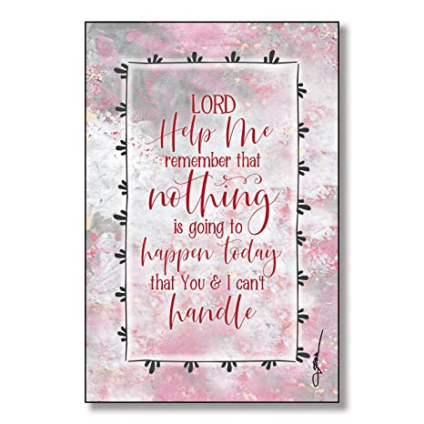 Amazon.com: Lord Help Me Remember Wood Plaque with Inspiring ...