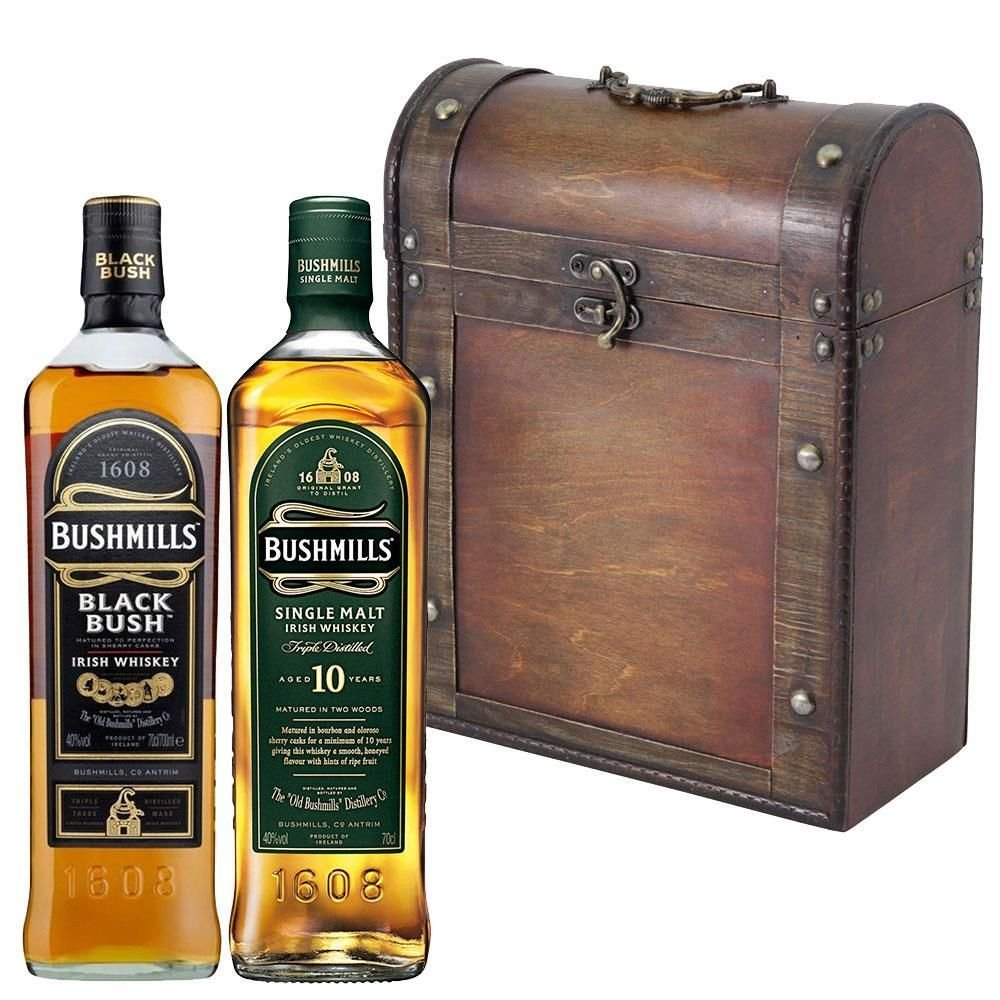 bushmills irish whiskey gift set gift ftempo. Black Bedroom Furniture Sets. Home Design Ideas