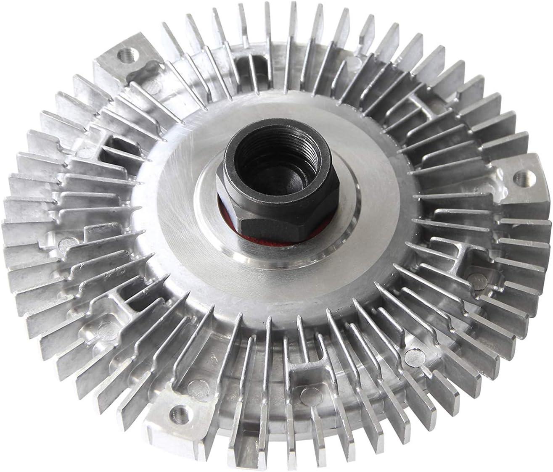 2691 Engine Cooling Fan Clutch Radiator Fan Clutch for BMW 3 5 Series M3 X5 Z3 320i 323ci 323i 323ti 325Ci 325i 328i 330Ci 330i 330xi 2L 2.2L 2.5L 2.8L 3L 3.2L