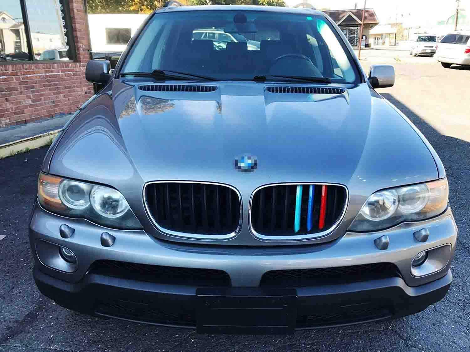 8 Beams iJDMTOY Exact Fit //////M-Colored Grille Insert Trims Compatible With BMW F30 F31 3 Series 320i 328i 330i 335i 340i M-Performance Black Kidney Grilles NOT 11-Beam Standard Grille or 4 Series