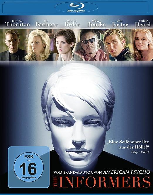 The Informers [Alemania] [Blu-ray]: Amazon.es: Rourke, Mickey ...