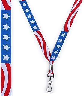 f13aff84f1a Amazon.com   Oakley Square O ID Badge Holder Lanyard - USA American ...