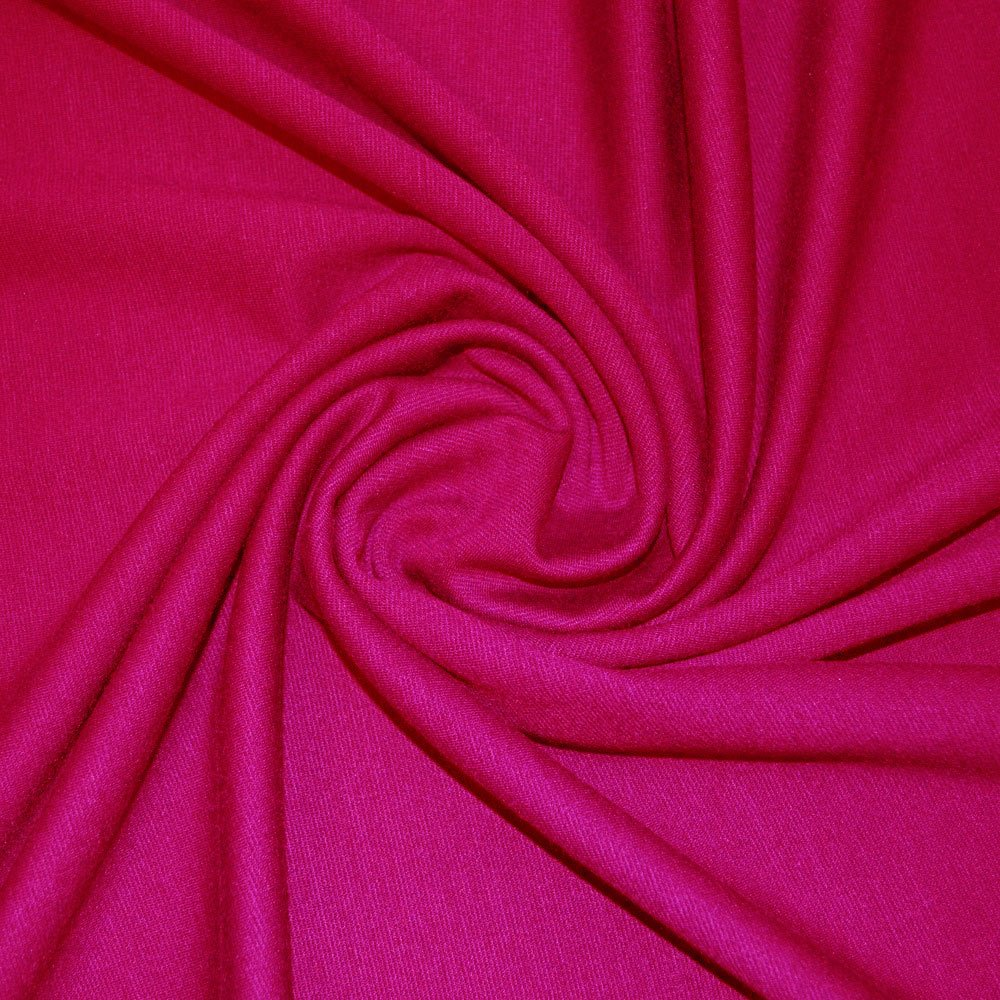 Cerise Double Knit Jersey Fabric (CO) SKU06891
