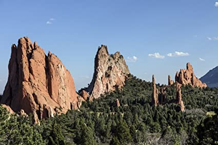 Garden Of The Gods Colorado Springs Co >> Amazon Com Colorado Springs Co Photo Formation In The