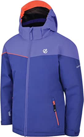 Dare2b Oath Waterproof & Breathable High Loft Insulated Ski & Snowboard Jacket With Foldaway Hood And Adjustable Fit Jackets Waterproof Insulated Unisex niños