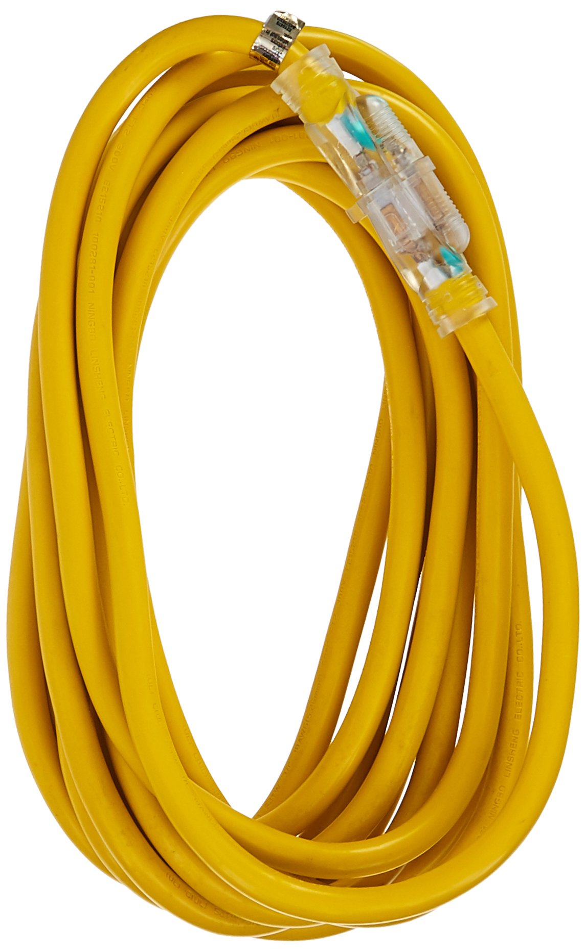 ATE Pro. USA 70048 Extension Cord, 25', 10 Gauge, 3-Prong